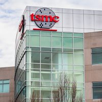 Jan 12, 2020 San Jose / CA / USA - Taiwan Semiconductor Manufacturing Company (TSMC) headquarters in Silicon Valley; TSMC is the world's largest dedicated independent (pure-play) semiconductor foundry