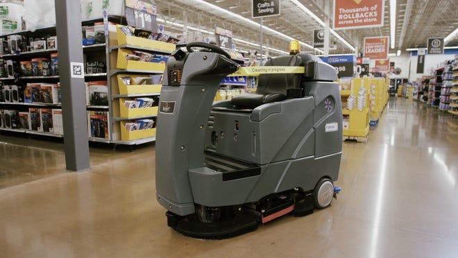 Walmart Cleaning Robot